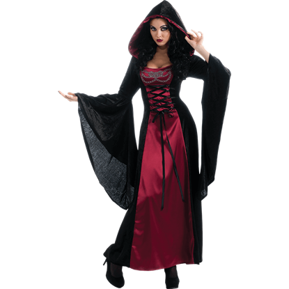 Womens Gothic Enchantress Costume Dress