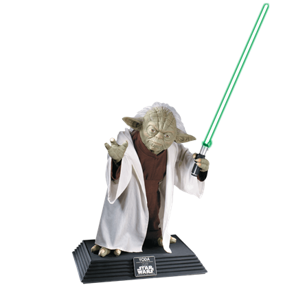 Collectors Edition Life Size Yoda Statue
