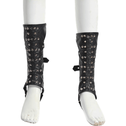 Gothic Studded Lower Leg Covers