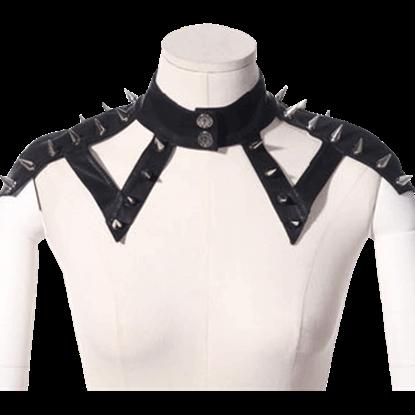 Gothic Spiked Shoulder Strap