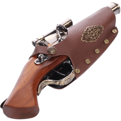 Steampunk Scope Gun and Holster