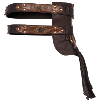 Steampunk Leather Belt Pack