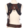 Belted Steampunk Harness with Satchel