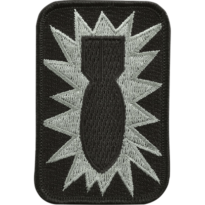 Drop the Bomb Fabric Patch
