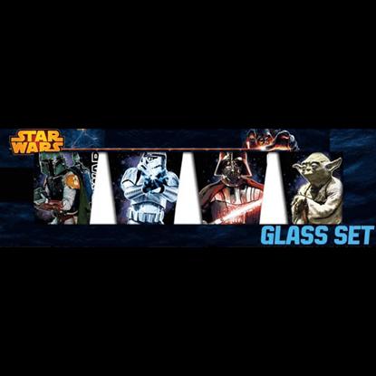 Star Wars Four Piece Shot Glass Set