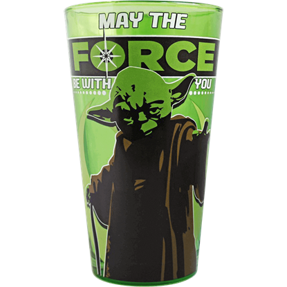 Star Wars Yoda Pub Glass