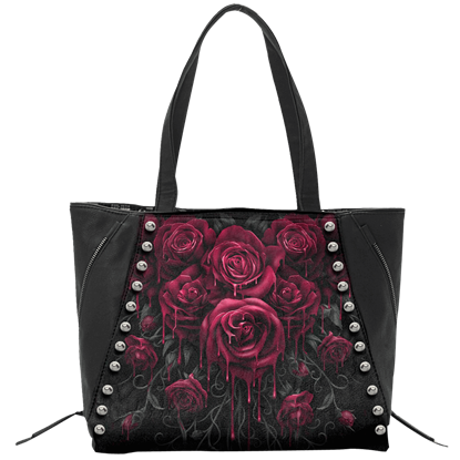 Blood Rose Tote Bag