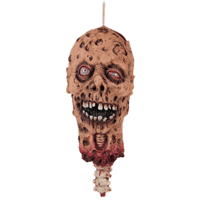 Decapitated Zombie Head