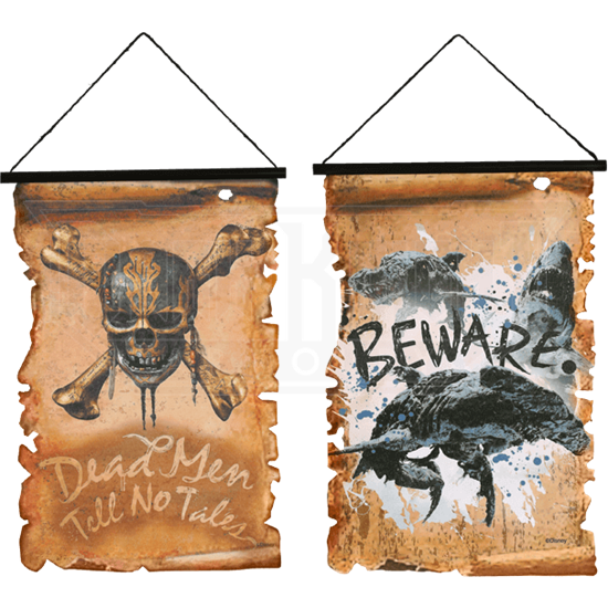 Pirate Hanging Banners