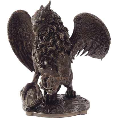 Celtic Griffin Statue