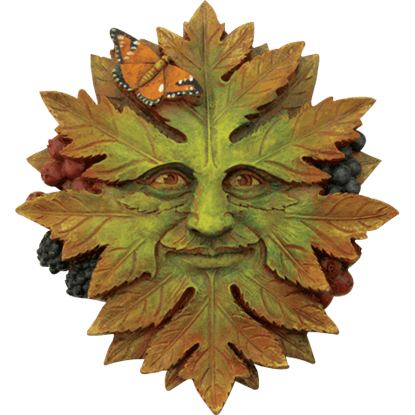 Autumn Greenman Plaque