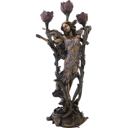 Fairy Rose Candelabra