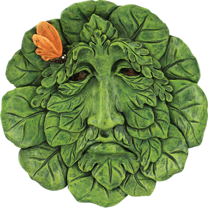 Broadleaf Greenman Plaque