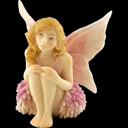 Clover Flower Fairy Statue