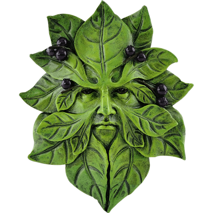 Blueberry Greenman Plaque