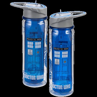 Doctor Who TARDIS Tritan Water Bottle