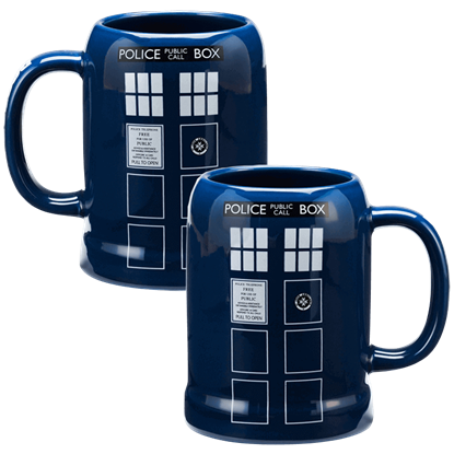Doctor Who TARDIS Tall Mug