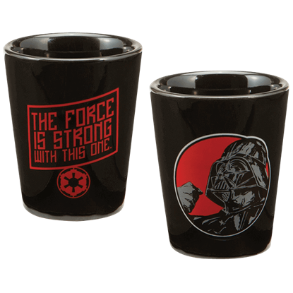 Star Wars Darth Vader Shot Glass
