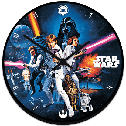 Classic Star Wars Wall Clock