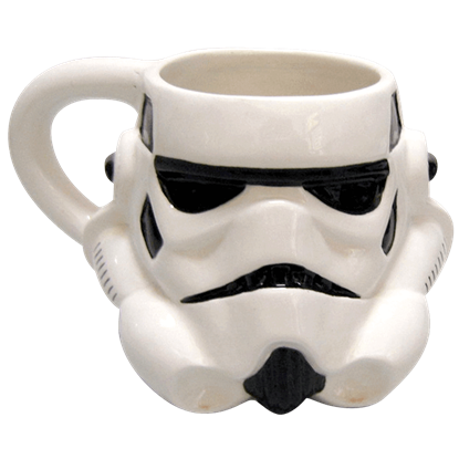 Sculpted Stormtrooper Mug