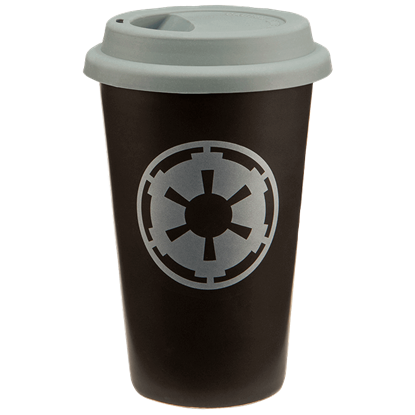 Insulated Star Wars Imperial Crest Travel Mug