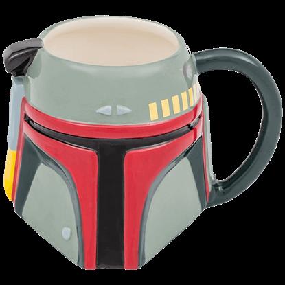 Star Wars Boba Fett Ceramic Sculpted Mug