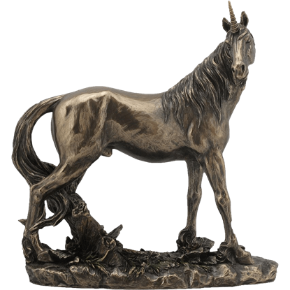 Bronze Unicorn Statue