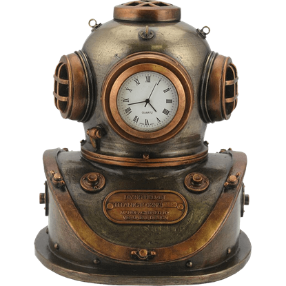 Diving Bell Steampunk Clock