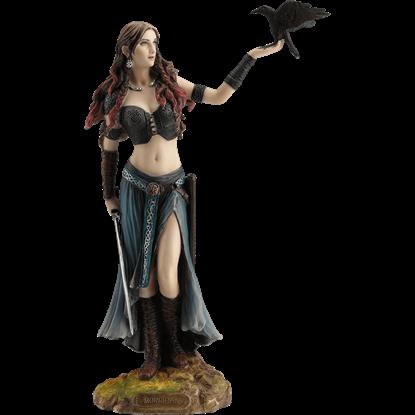 Celtic Goddess the Morrigan Statue