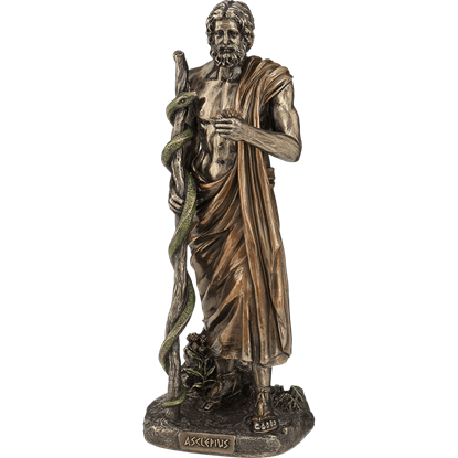 Bronze Asclepius Statue