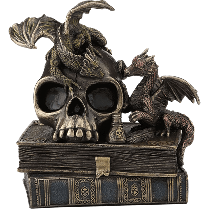 Alchemy Dragonlings Statue