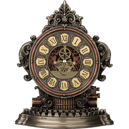 Classic Steampunk Mantle Clock