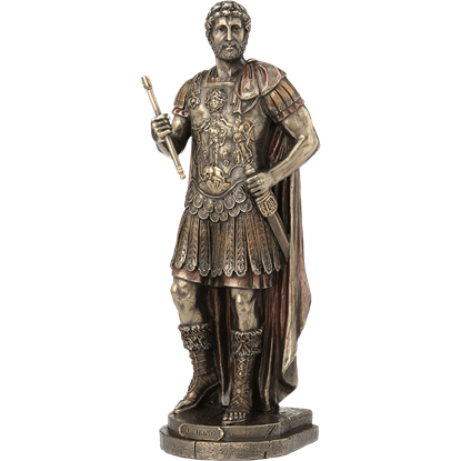 Bronze Hadrian Statue