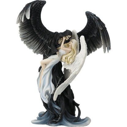 Angel and Reaper Statue