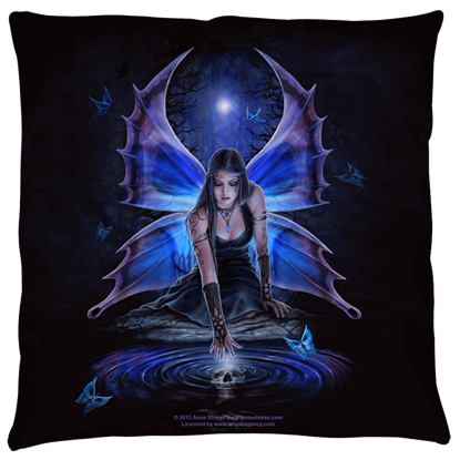Large Anne Stokes Immortal Flight Pillow