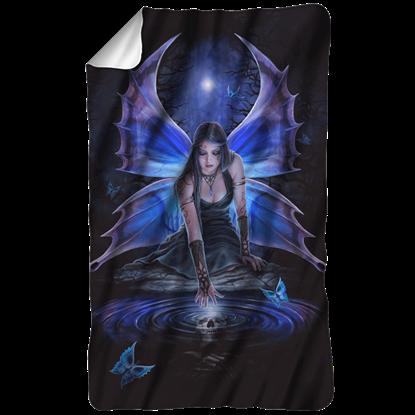 Anne Stokes Immortal Flight Fleece Blanket