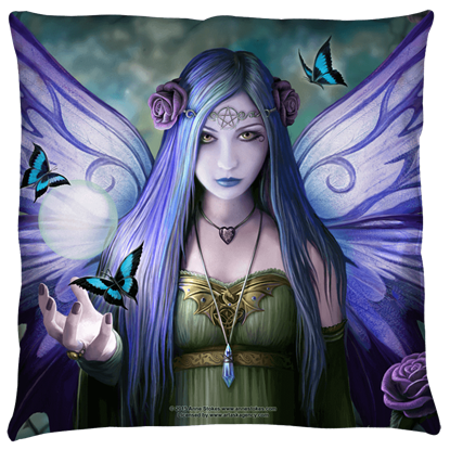 Large Anne Stokes Mystic Aura Pillow