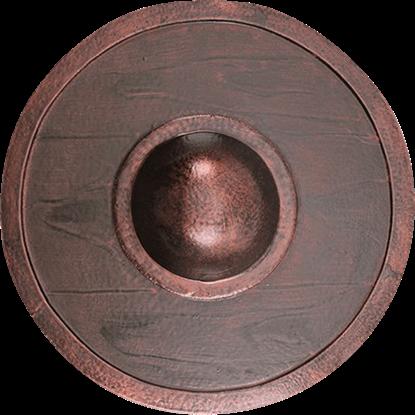 Copper LARP Buckler Shield