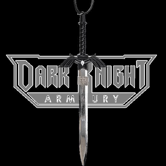 Black Hero Sword Necklace