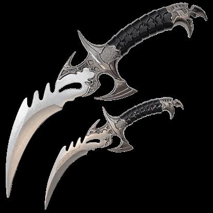 Bird of Prey Fantasy Dagger Set
