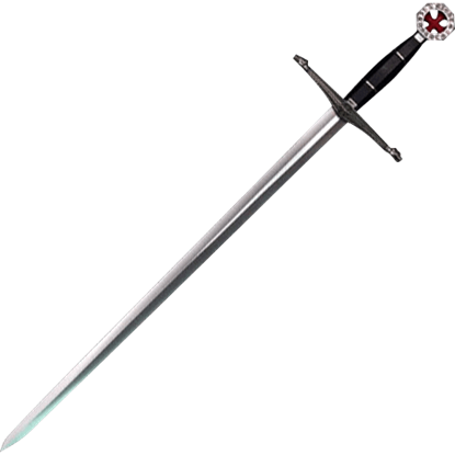 Knights Templar Red Cross Sword