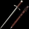 Knights Templar Brown Hilt Crusader Sword