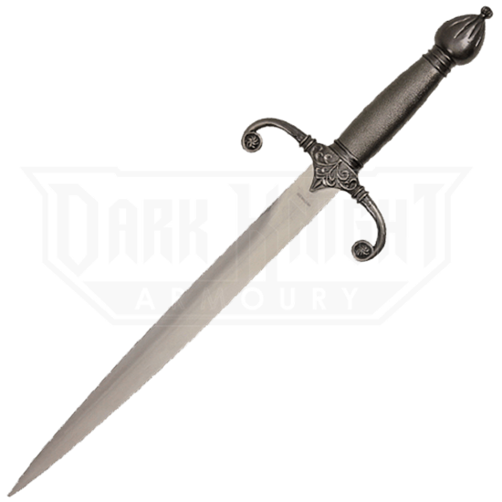 Curved Guard Medieval Dagger