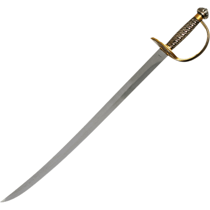 Brass Hilt Caribbean Pirate Sword