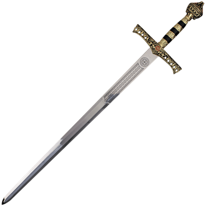 King Richard the Lionheart Sword with Sheath