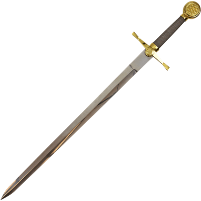 Golden Knights Sword and Plaque