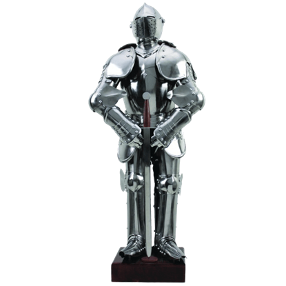 Miniature Medieval Suit of Knights Armour