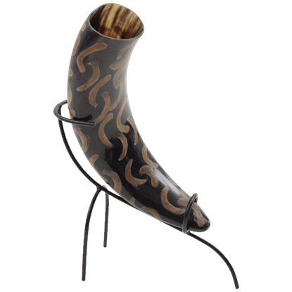 Ceremonial Viking Drinking Horn