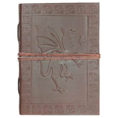 Medieval Dragon Leather Journal