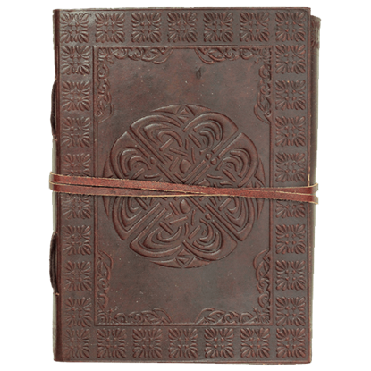 Celtic Circle Leather Journal